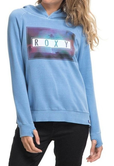 Blusão Feminino Roxy Canguru Fech Sunset Colors