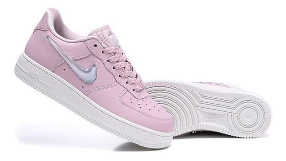 Tênis Air Force Feminino Shoes Original Rosa