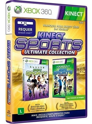 Kinect Sports Ultimate Collection 2 Jogos Em 1 Com Garantia