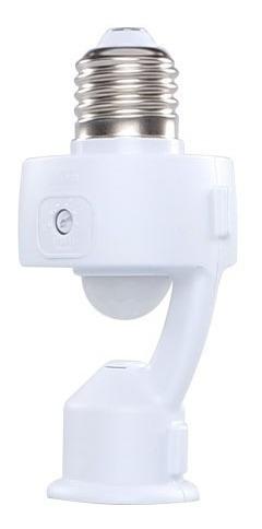 Sensor De Presença P/lâmpada C/foto Celula Margirius Mpq-40f