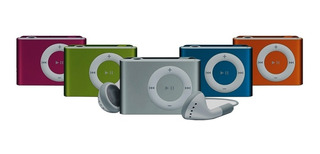 Reproductor Mp3 Shuffle Clip Mini Audifonos Usb 4gb 8gb 16gb