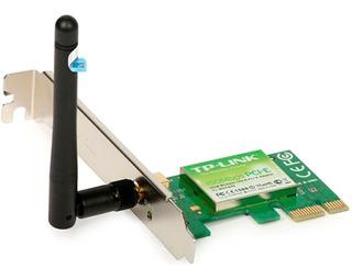 Tarjeta Wifi Pci Express Tp-link Tl-wn781nd 150mbps 2.4 Ghz