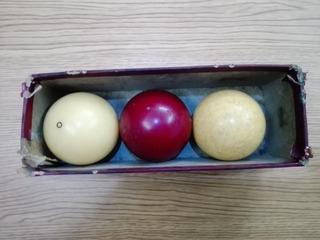 Bolas Para Carambola 2 1/4 Usado #4