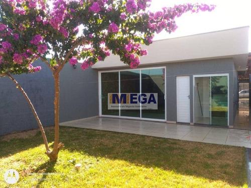Casa Com 3 Dormitórios À Venda, 180 M² Por R$ 590.000 - Residencial Pazetti - Paulínia/sp - Ca2459