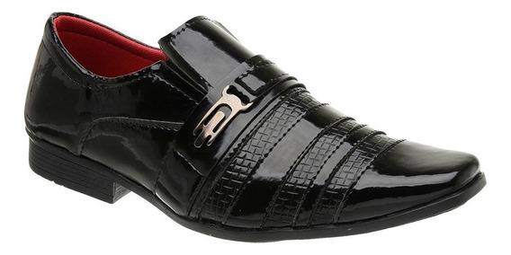 Sapato Social Verniz Veneza Di Stefani - 5010