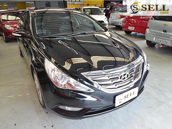 Hyundai Sonata Gls 2012 Preto C/teto Solar