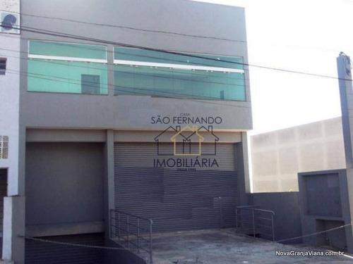 Imagem 1 de 11 de Galpão Comercial Para Locação, Jardim Júlio, Barueri - Ga0005. - Ga0005