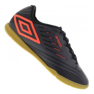 Tenis Futsal Umbro Speed Iv Adulto Preto + Frete Gratis