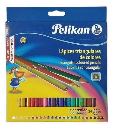 Lápices De Color Pelikan X 24