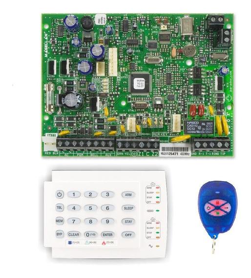 Kit Central Paradox Mg5050 + Teclado K10+ Controle Remoto Re