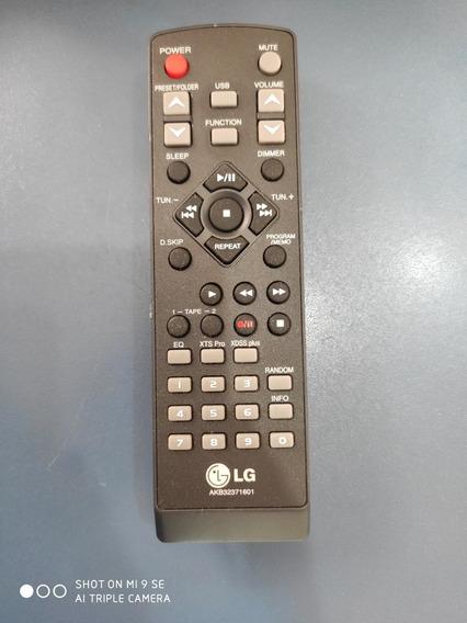 Controle Remoto Som LG Mct-362 Mct 362 Akb32371601 Novo E Or