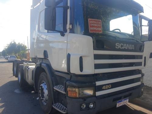 Imagem 1 de 8 de Scania 124 420 6x2
