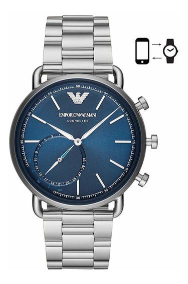 Emporio Armani Reloj Inteligente Híbrido De Cuarzo Para H
