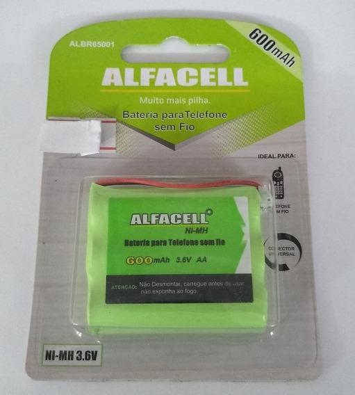 Bateria Alfacell 3,6v Albr65001 600mah Ni-mh