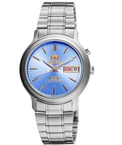 Relógio Orient Automático Masculino Azul 469wa1a A1sx