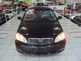 Toyota Corolla 1.6 16v Xli Aut 2004 Couro,rodas,periciado