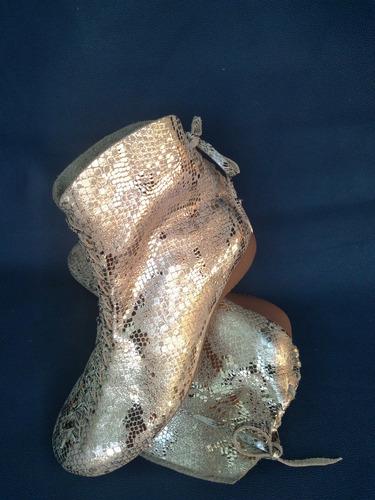 Imagen 1 de 3 de Zapatos/botines Artesanales Dama