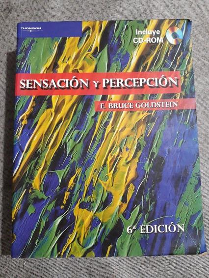 Livro Sensación Y Percepción 6ª Edición Com Cd E. Bruce Gol