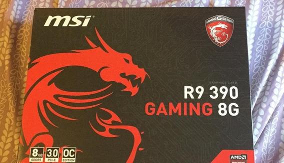 Placa De Vídeo Amd R9 390 Gaming 8gb 512bits Gddr5