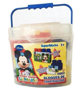 Bloques Disney Mickey Sb001 35 Pzas.