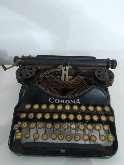 Máquina De Escrever Corona (funcionando)
