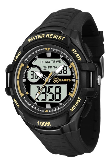 Relógio Masculino Xgames Digital Xmppa230 Bxpx Preto