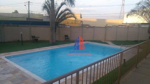 Apartamento Com 2 Dormitórios À Venda, 59 M² Por R$ 179.000 - Residencial Spazio Acrópolis - Vila Belvedere - Americana/sp - Ap0884