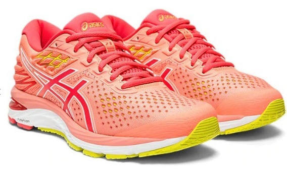 Zapatillas Asics Gel Cumulus 21 Running Mujer Coral