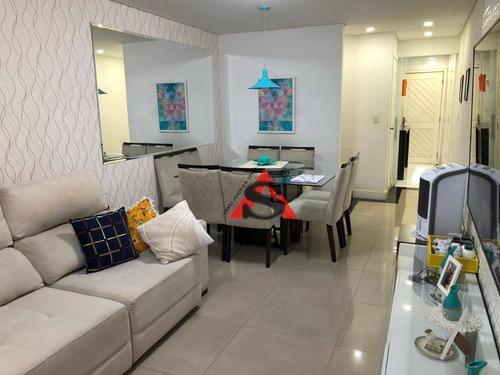 Sobrado Com 3 Dormitórios À Venda, 110 M² Por R$ 745.000,00 - Jardim Santa Maria - São Paulo/sp - So5244