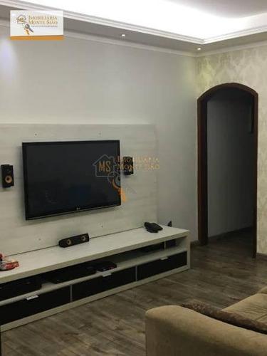 Sobrado Com 3 Dormitórios À Venda Por R$ 510.000,00 - Jardim Santa Cecília - Guarulhos/sp - So0173