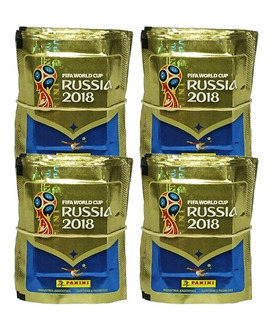 Figuritas Mundial Rusia 2018 Panini Pack X 100 Sobres Stock!