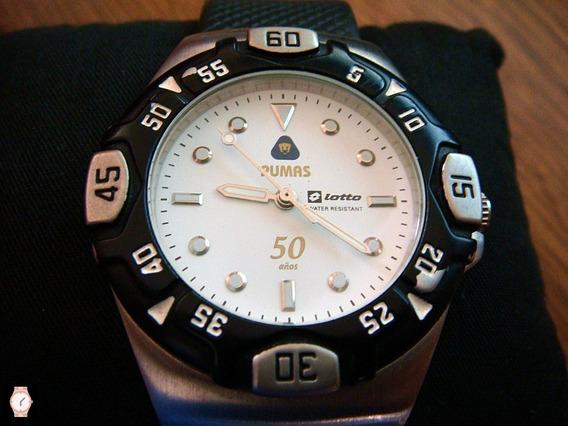 Reloj Lotto Edición 50 Aniversario Club Pumas
