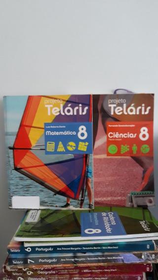 Kit Com 5 Livros Projeto Teláris 8 Ano - 2 Edição 2015