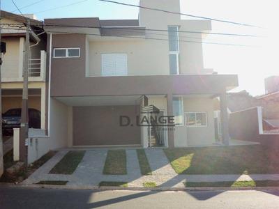 Casa Com 4 Dormitórios À Venda, 312 M² Por R$ 900.000 - Loteamento Residencial Santa Gertrudes - Valinhos/sp - Ca11651