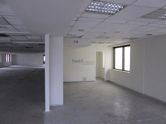 Sala Comercial Com Laje De 412 M2, 10 Vagas De Garagem Na Avenida Paulista - Fa2306