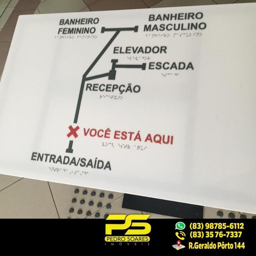 Imagem 1 de 5 de (alugo) Sala Comercial No Manaíra Com 30m² - Sa0125