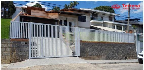 Casa Com 3 Dormitórios À Venda, 254 M² Por R$ 550.000,00 - Fortaleza - Blumenau/sc - Ca0157