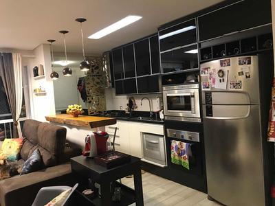 Apartamento Mobiliado 3 Dorm. (1 Suíte) Varanda Gourmet