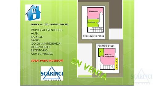 Venta/ Santos Lugares/ Ph Duplex 3 Amb./ A Estrenar