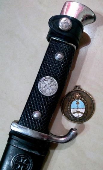 Antiguo Cuchillo Filtemple. Daga Acero Sueco. Sable Bayoneta