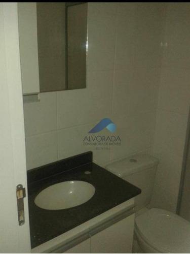 Imagem 1 de 11 de Apartamento Com 2 Dormitórios À Venda, 60 M² Por R$ 220.000,00 - Parque Residencial Flamboyant - São José Dos Campos/sp - Ap7297