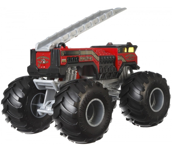 Carros Hotwheel Mega Monster Trucks 1:24 Mattel Original