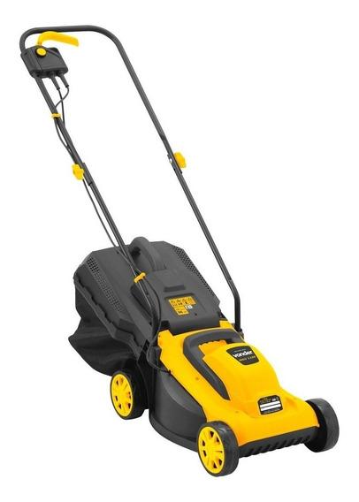 Cortador de grama elétrico Vonder MGV 1100 com saco de coleta 1100W amarelo 220V