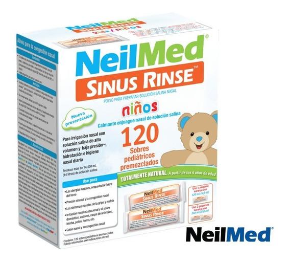 Enjuague Nasal 120 Sobres RefilNeil Med Wallmed