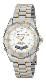 Relógio Technos Skydiver Misto Fundo Branco T20557/9b
