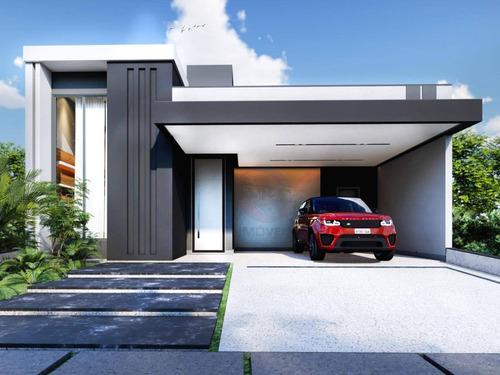 Imagem 1 de 9 de Casa Com 3 Suítes À Venda, 186 M² Por R$ 1.150.000,00 - Condomínio Jardim Piemonte - Indaiatuba/sp - Ca11652