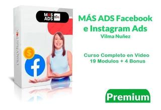Curso Más Ads: Facebook E Instagram Ads - Vilma Nuñez