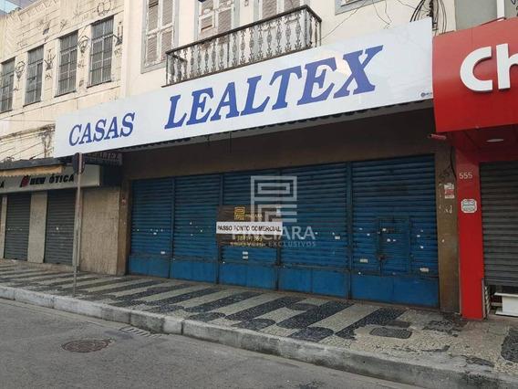 Loja De 500 M² Por R$ 35.000/mês - Centro - Niterói/rj - Lo0028