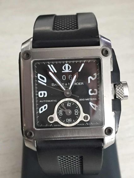 Relógio Baume E Micier Rapthon Square Gmt Xl 200m