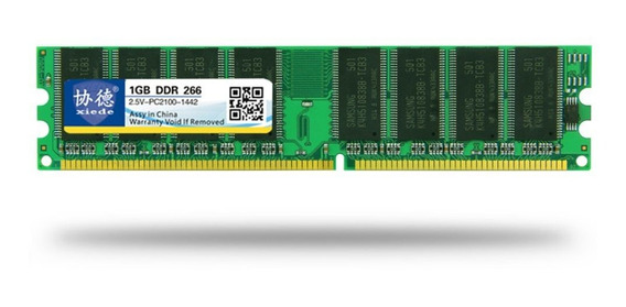 Xiede Ddr 266 1g Memoria De Pc Desktop Módulo Pc-2100 Totalm